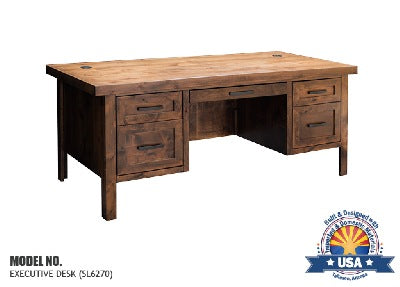 "Sausalito Collection 71"" Executive Desk"