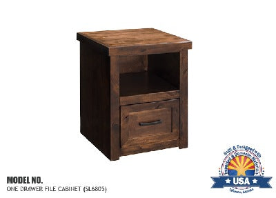 Sausalito Collection One Drawer File Cabinet