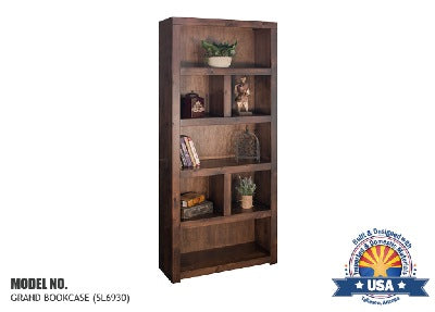 "Sausalito Collection 80"" Grand Bookcase"