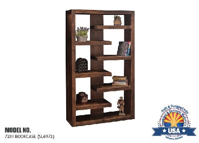 "Sausalito Collection 72"" Bookcase"