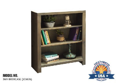 "Joshua Creek Collection; 36"" bookcase"