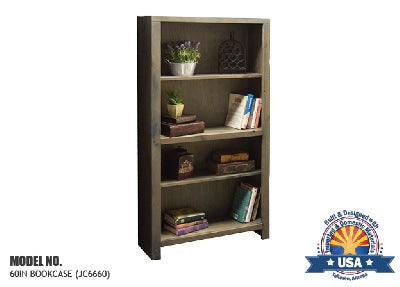 "Joshua Creek Collection; 60"" bookcase"