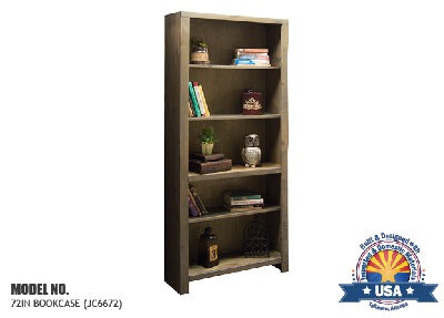 "Joshua Creek Collection; 72"" bookcase"
