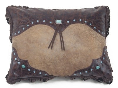 Western Curved Corner pillow