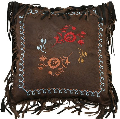 Western Rose Pillow