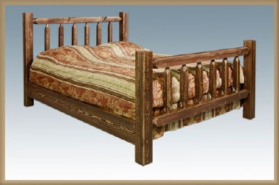 HOMESTEAD COLLECTION - Homestead Beds - Stained and Lacquered Model