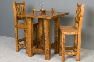 Awe Inspiring The Sawmill Collection Barnwood Pub Table Download Free Architecture Designs Estepponolmadebymaigaardcom