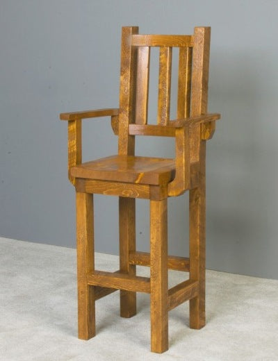 Sawmill Collection Pub Chair with arms
