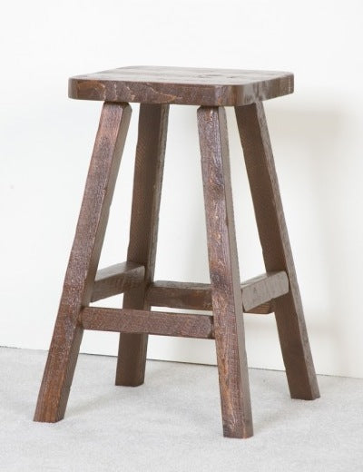 The Sawmill Collection Barnwood pub stool