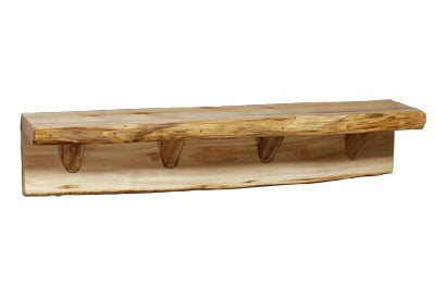 ASPEN LOG Thick Wall Shelf (48″W)