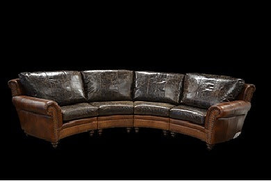 The Highlander Curved Sofa