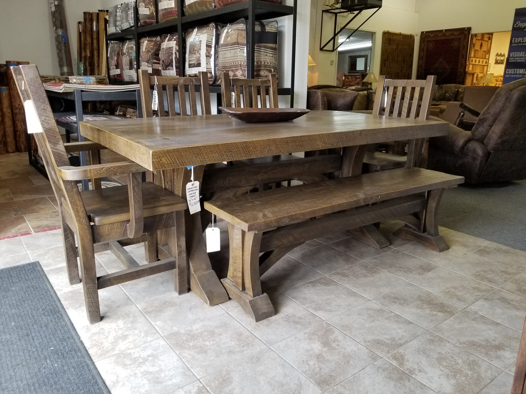Clearance Sale on Frontier 6 piece Dining Set!