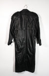 Vintage Long Leather Coat