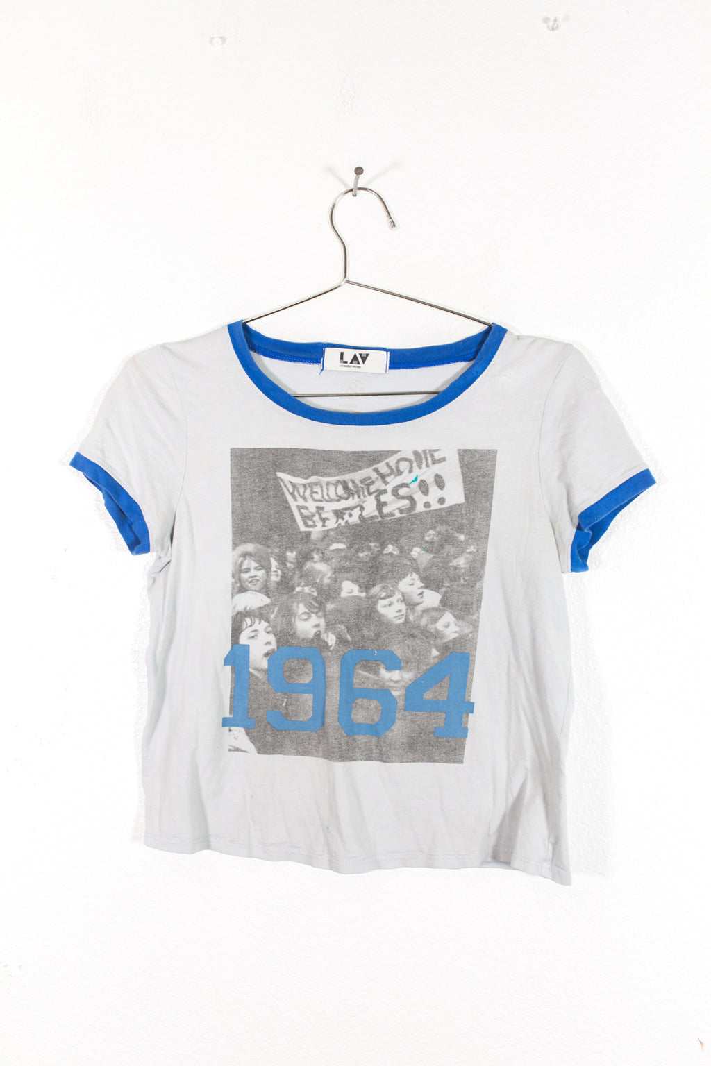 Beatles 1964 Cropped Top