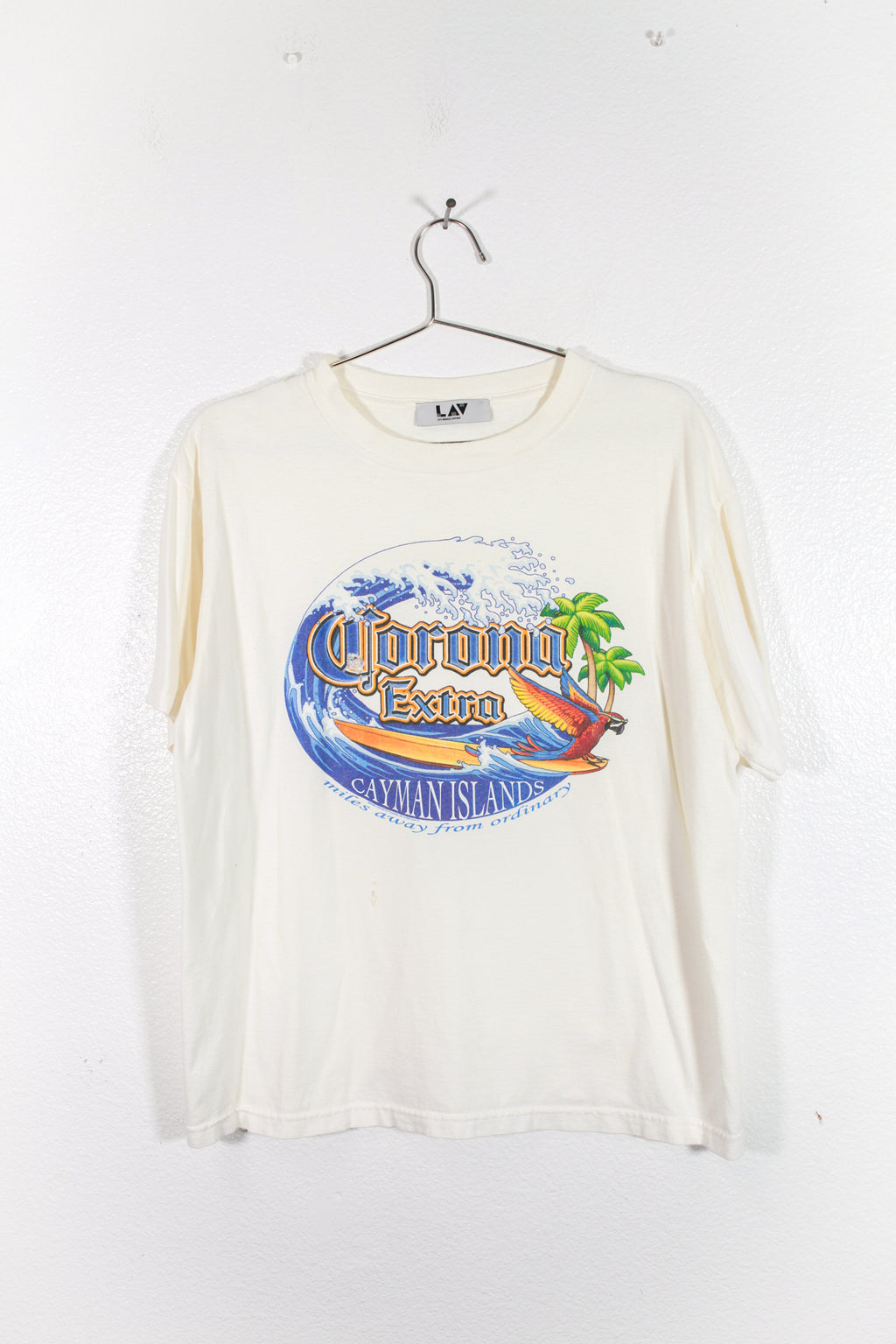 Vintage Corona Cayman Islands Tee