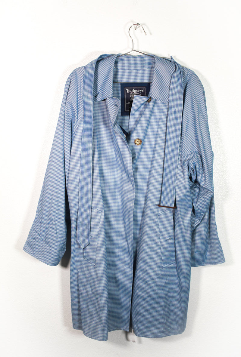 Vintage Blue Burberry's Coat