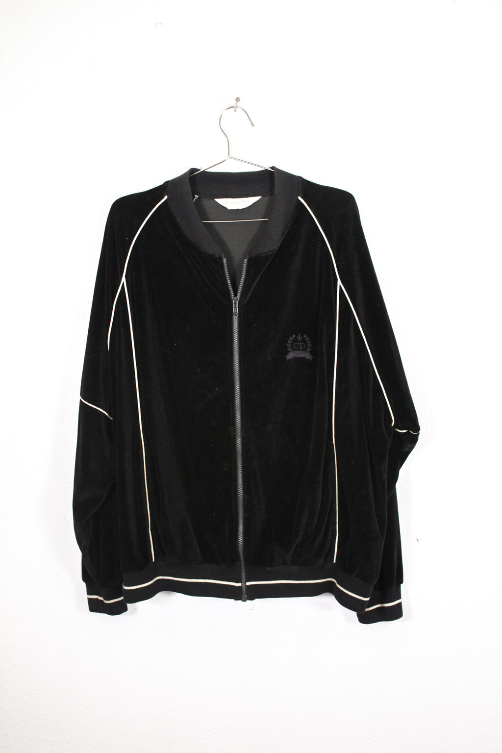 Black Christian Dior Zip Up