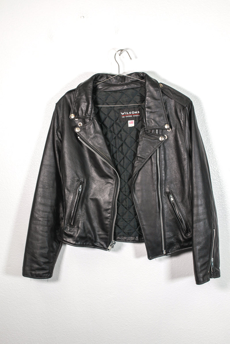 Vintage Authentic Wilsons Leather Jacket