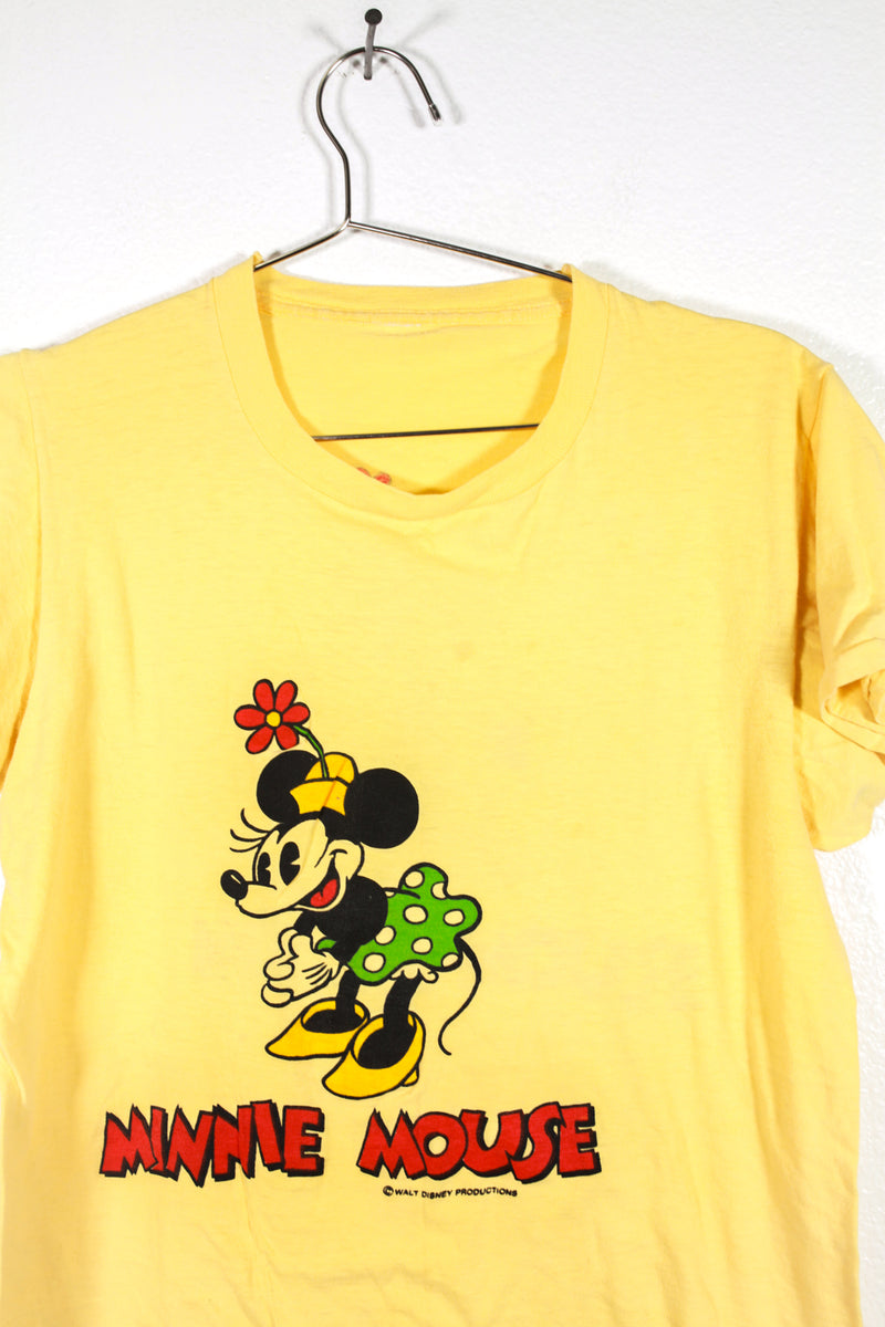 Vintage Minnie Mouse Yellow Tee