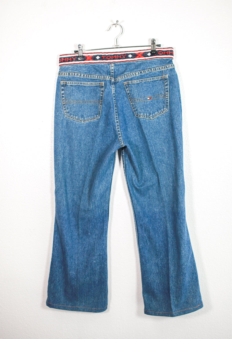Vintage Beaded Tommy Jeans