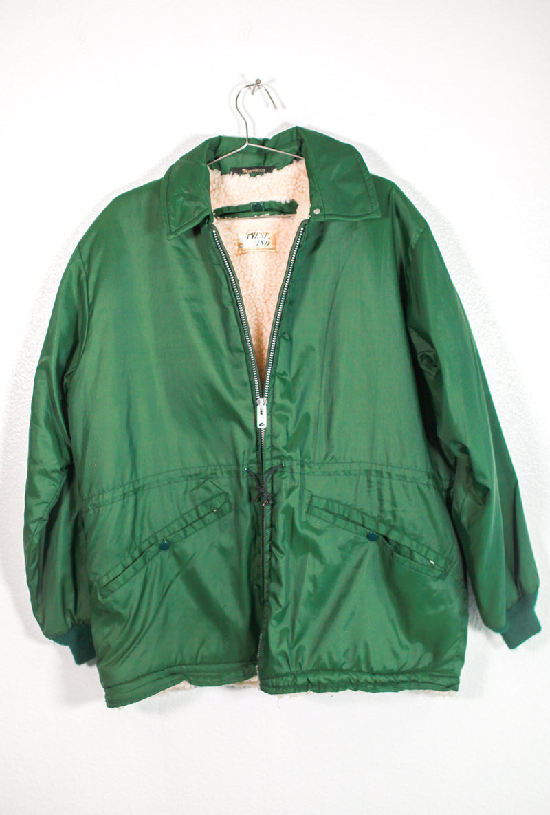 Forest Green West Wind Jacket