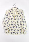 Vintage LANVIN Button Down Blouse