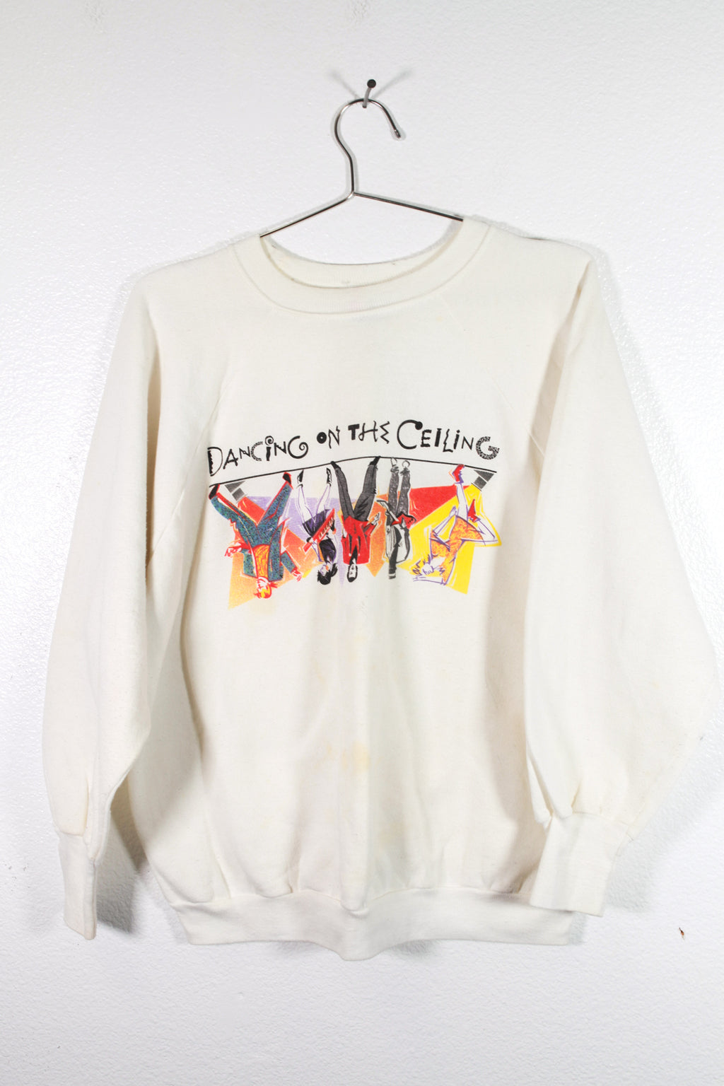 "Vintage Lionel Richie ""Dancing On The Cieling"" Sweatshirt"