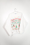 Vintage White Christmas Sweatshirt