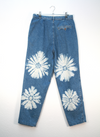 80's Floral Tie Dyed Jeans