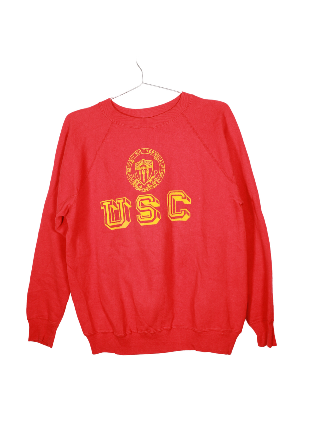 Red Vintage USC Sweatshirt