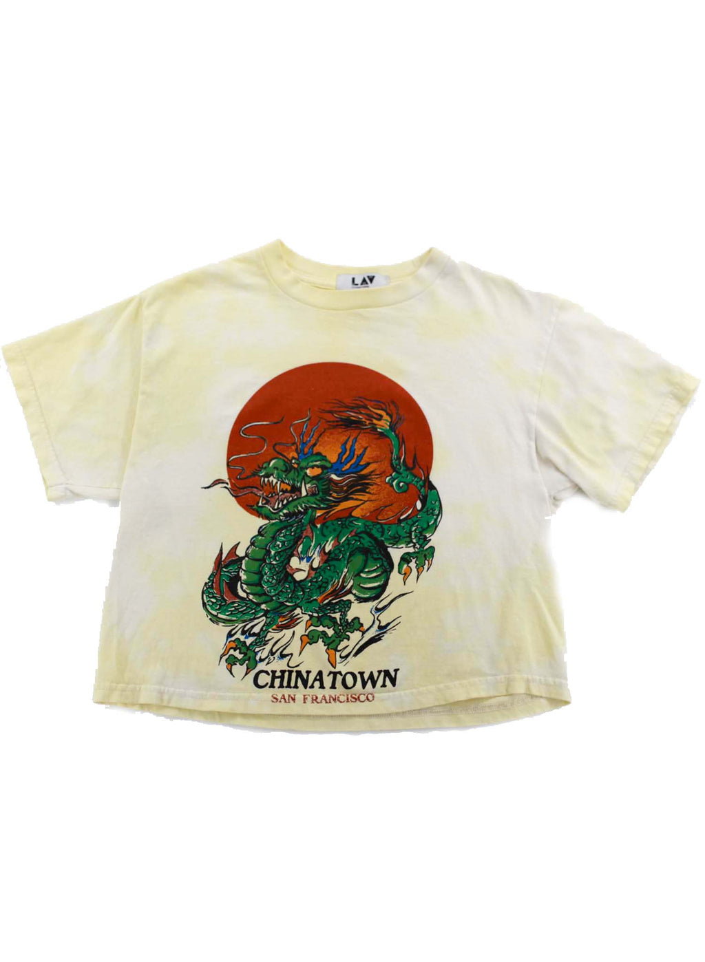 Dragon Tee Cropped T Shirt