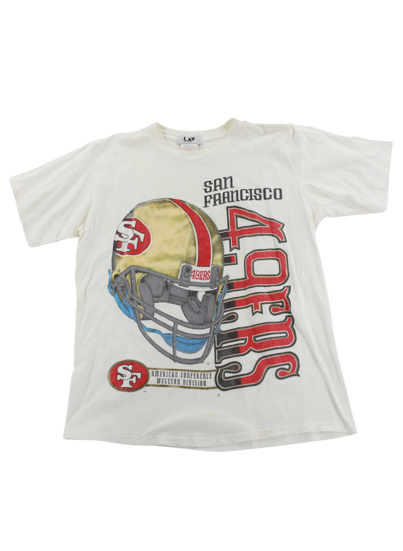 Vintage SF 49ers American Conference Western Division Tee