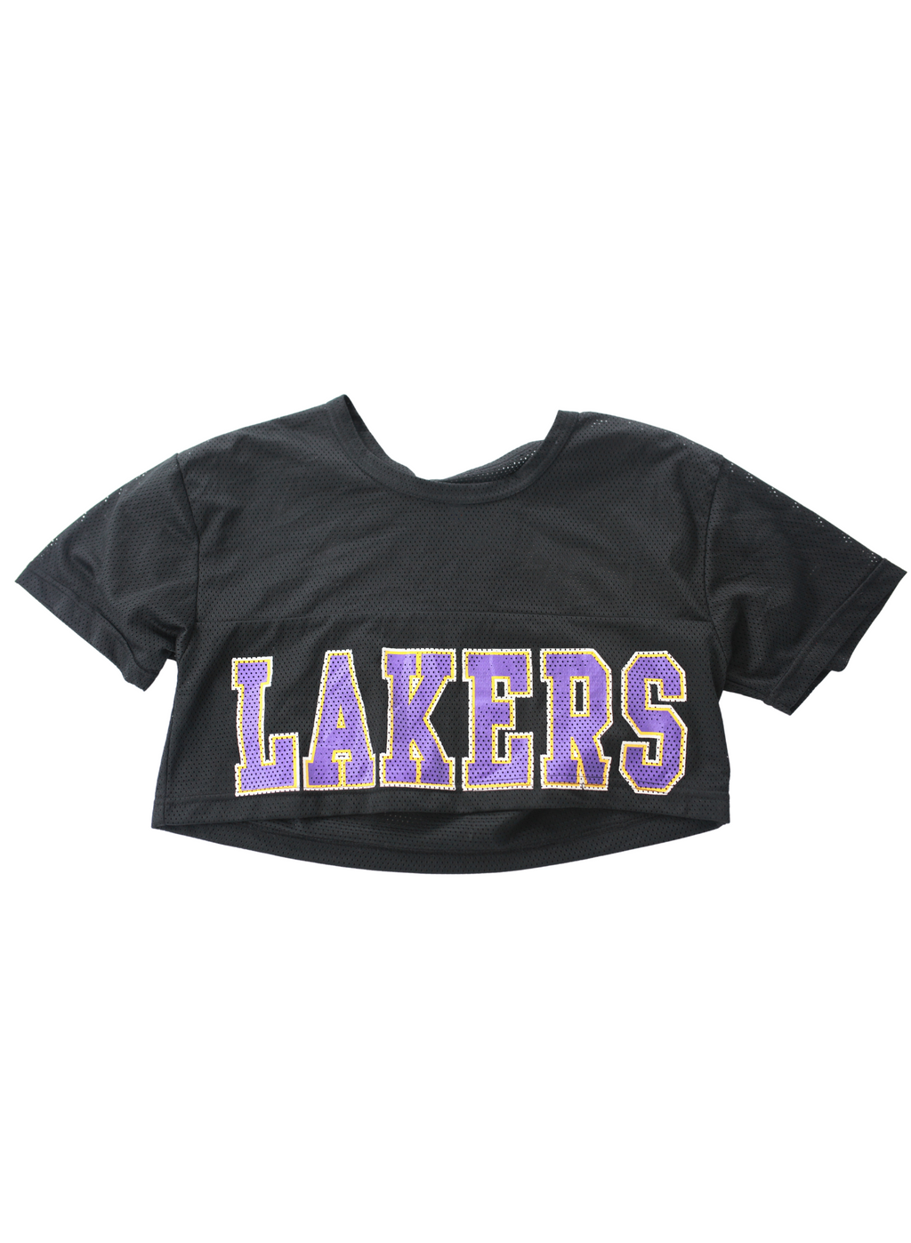 Cropped LA Lakers Girl Jersey