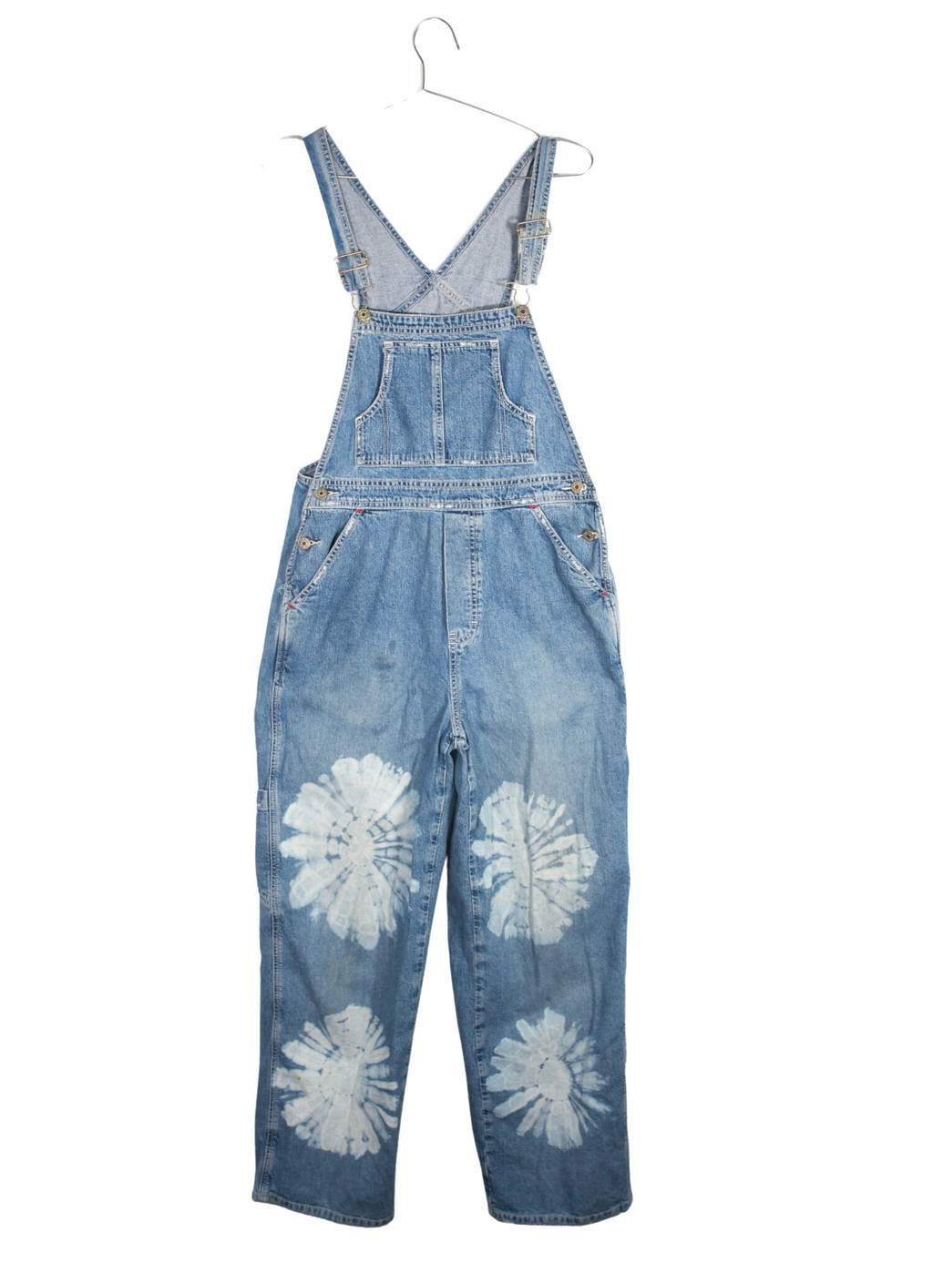 Vintage Hand Painted Denim Overalls