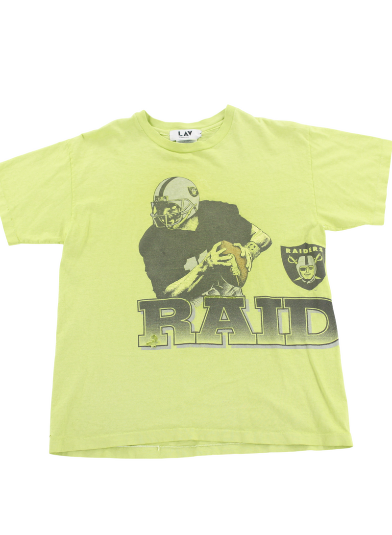 Vintage Green Raiders Tee