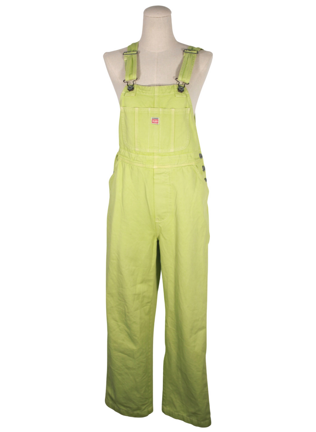 Vintage Green Overalls