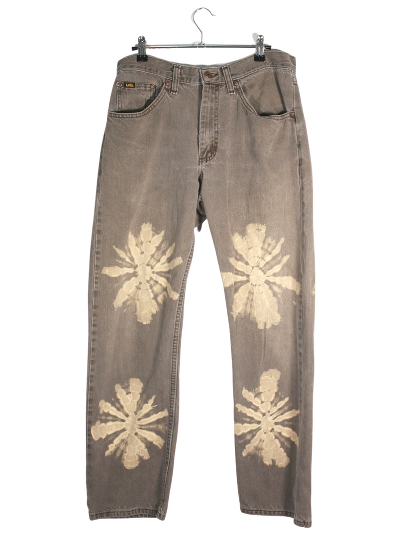 Vintage Lee Hand Painted Dark Denim