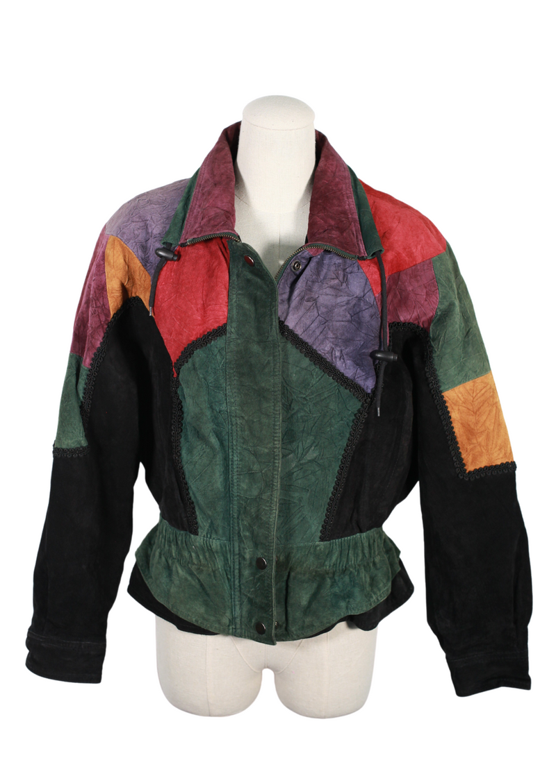 80s/90s Vintage Chia Multicolored Jacket