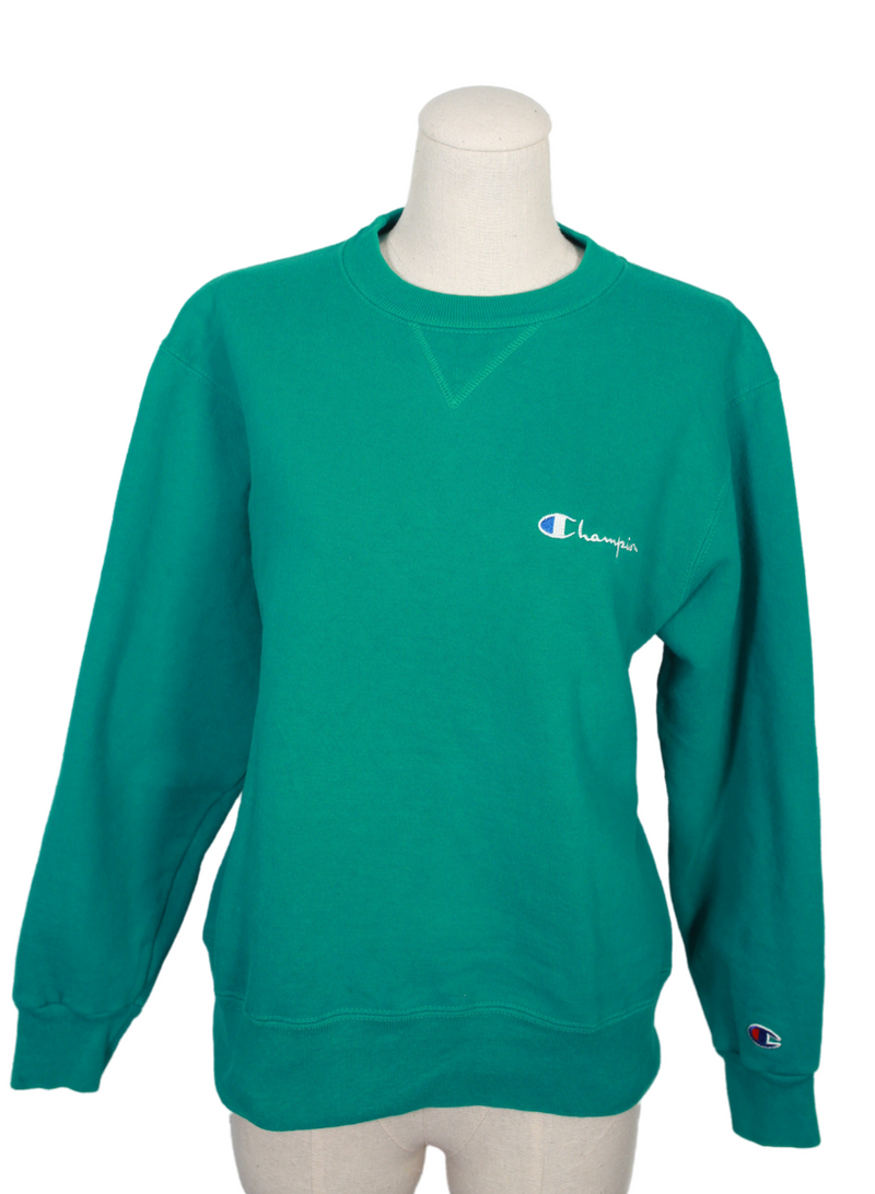 Vintage Green Champion Sweatshirt