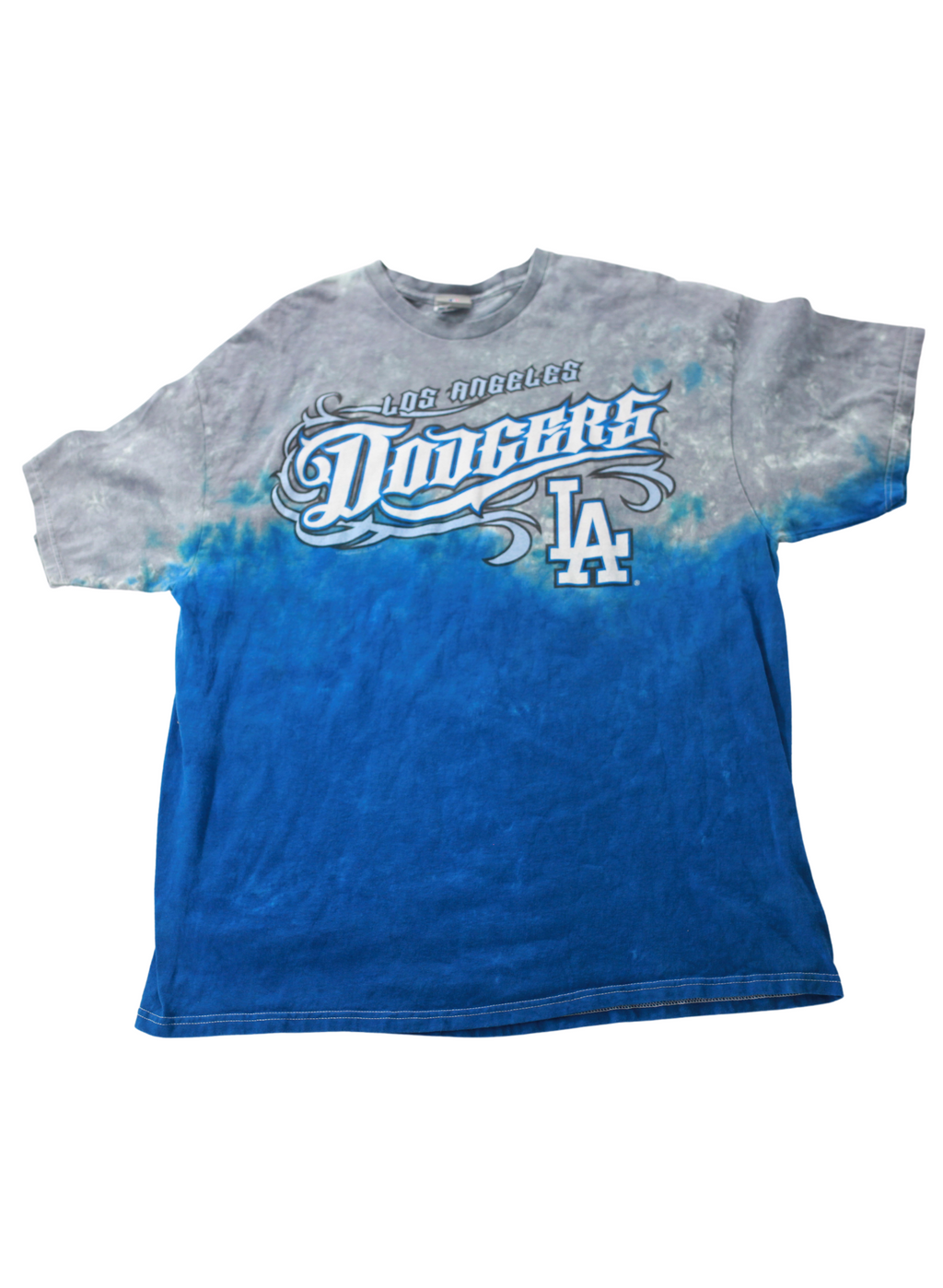 Blue Graffiti LA Dodgers Tee