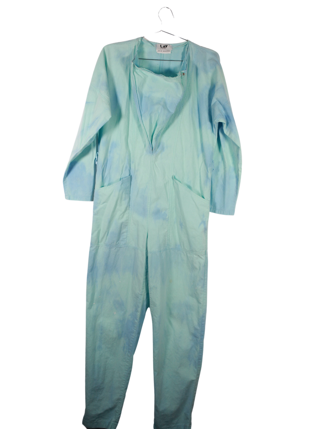Vintage Jack Winter Cloud Painters Jumpsuit