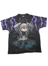 Purple Lightening Harley Davidson Original Tee