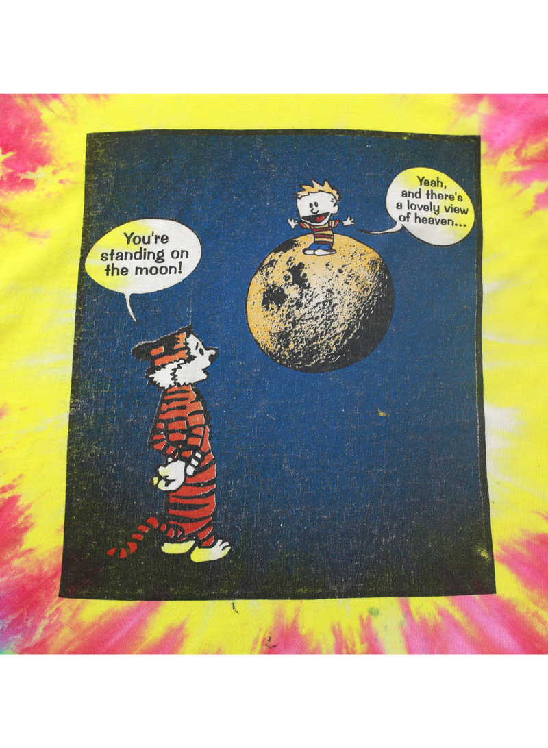 Calvin and Hobbes Tie Dye Shirt