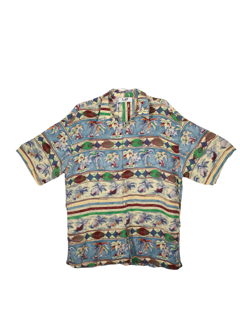 Vintage Island Button Up