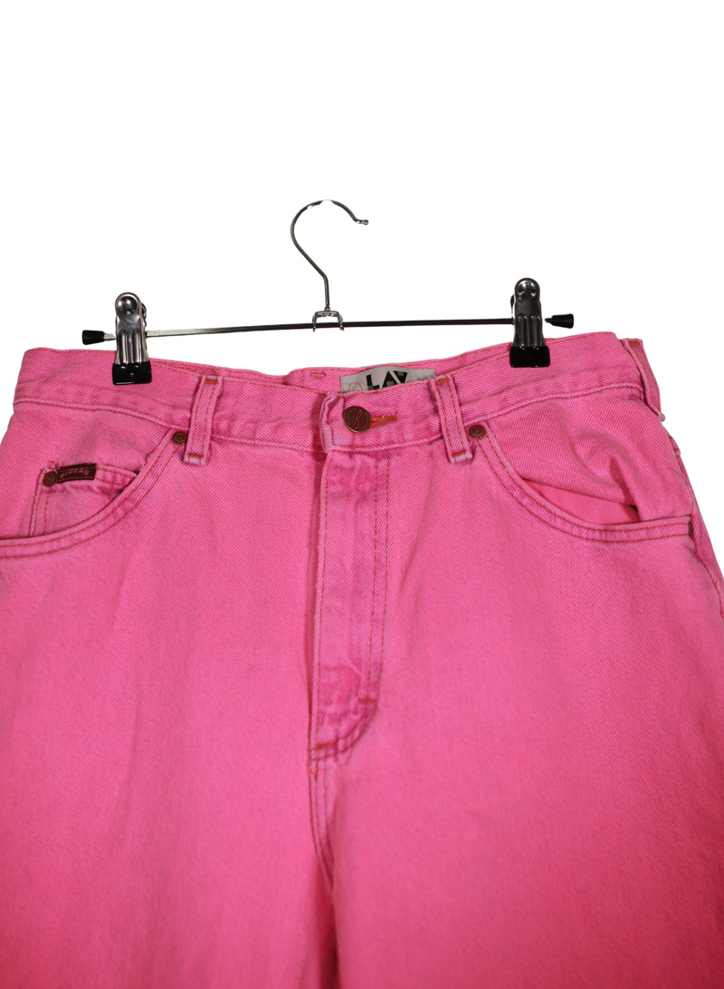 Vintage Hot Pink Rider Denim Jeans
