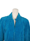 Vintage Blue Suade Jacket