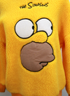 Yellow Simpson Sweatshirt
