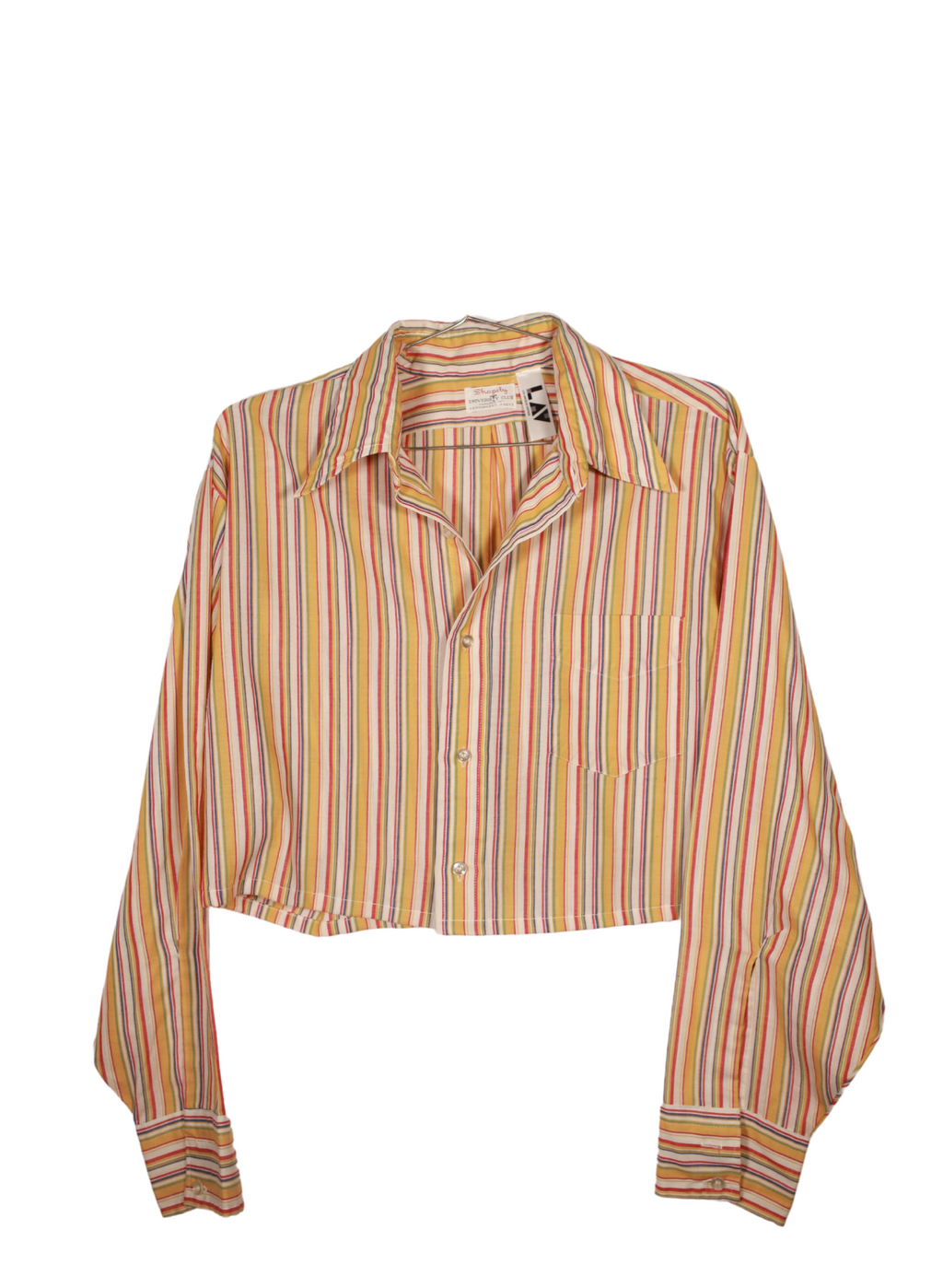 Vintage Shapely Cropped Shirt