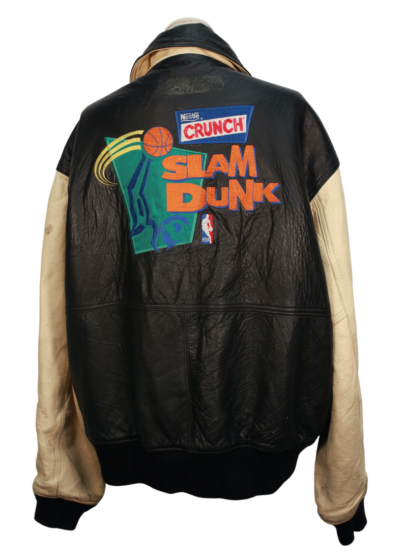Vintage Slam Dunk Leather Jacket