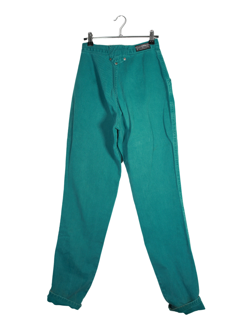 Emerald High Waisted Rocky Jeans